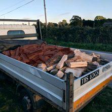 Half Truck Load of Logs